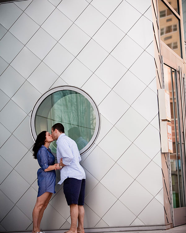 Allie and Justin's engagement session