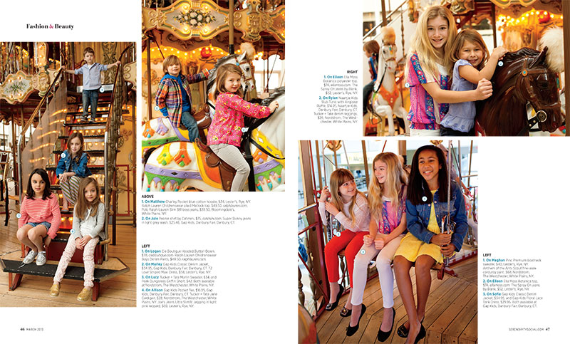 Serendipity Magazine's Spring Kids' Fashion Shoot