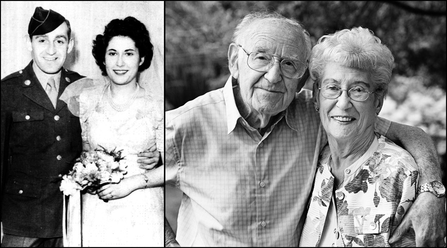 Seventy years married! A true love story revisited.