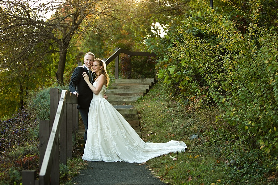 Paige and Mike @ Blue Hill at Stone Barns, Pocantico Hills, NY