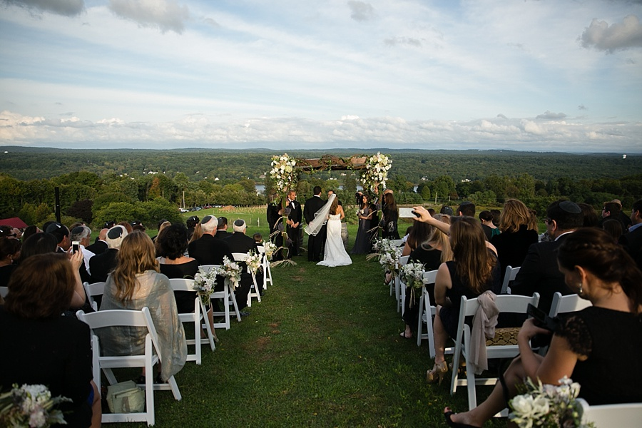 Ali and ari s wedding red maple vineyard west park for Unusual wedding venues nyc