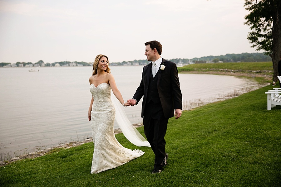 Amanda and Todd's Wedding | The Inn at Longshore By OnTheMarc| Westport, Connecticut